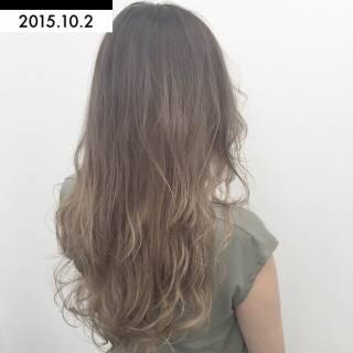 黒髪 ストリート グラデーションカラー 外国人風 ヘアスタイルや髪型の写真・画像
