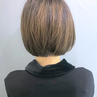 ショートボブ ミニボブ 簡単スタイリング ボブ ヘアスタイルや髪型の写真・画像