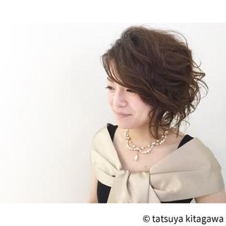 花嫁 ボブ 色気 外国人風 ヘアスタイルや髪型の写真・画像
