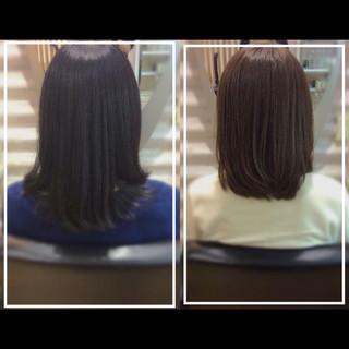 ナチュラル 大人ヘアスタイル 社会人の味方 艶髪 ヘアスタイルや髪型の写真・画像