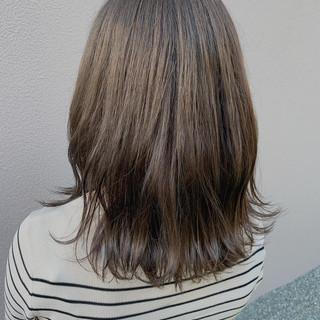 ミルクティー ベージュ ナチュラル ミルクティーベージュ ヘアスタイルや髪型の写真・画像