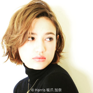 モード ハイライト グラデーションカラー アッシュ ヘアスタイルや髪型の写真・画像 ヘアスタイルや髪型の写真・画像