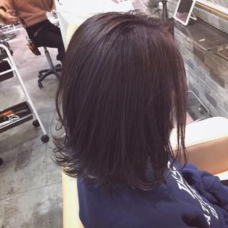 表参道 ナチュラル グレージュ ボブ ヘアスタイルや髪型の写真・画像