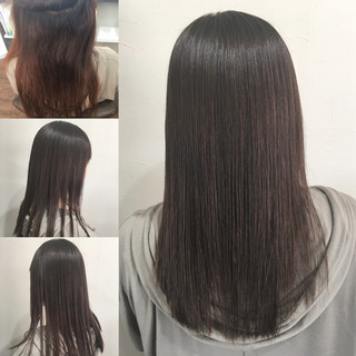 頭皮改善 ナチュラル 髪質改善 ロング ヘアスタイルや髪型の写真・画像