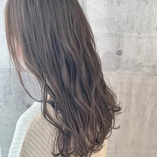 ハイライト ナチュラル 透明感 暗髪 ヘアスタイルや髪型の写真・画像