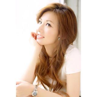 外国人風 ロング ストリート モテ髪 ヘアスタイルや髪型の写真・画像