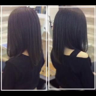 ロング 髪質改善カラー 社会人の味方 大人ヘアスタイル ヘアスタイルや髪型の写真・画像