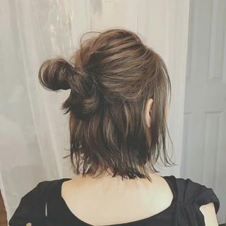 ボブ 冬 秋 フェミニン ヘアスタイルや髪型の写真・画像 ヘアスタイルや髪型の写真・画像