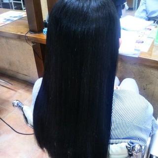 ストレート サラサラ ロング ナチュラル ヘアスタイルや髪型の写真・画像 ヘアスタイルや髪型の写真・画像