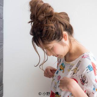 デート ナチュラル 簡単ヘアアレンジ 涼しげ ヘアスタイルや髪型の写真・画像