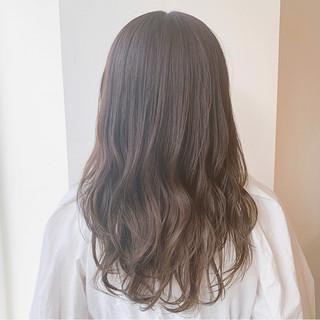 ナチュラルブラウンカラー ブラウンベージュ 透明感カラー 可愛い ヘアスタイルや髪型の写真・画像