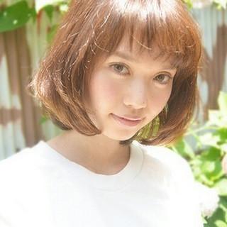 大人かわいい ショート 小顔 パーマ ヘアスタイルや髪型の写真・画像