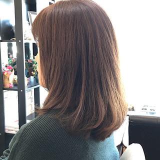 ゆるふわパーマ 3Dハイライト ナチュラル 毛先パーマ ヘアスタイルや髪型の写真・画像