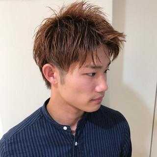 メンズ 刈り上げ ボーイッシュ 坊主 ヘアスタイルや髪型の写真・画像