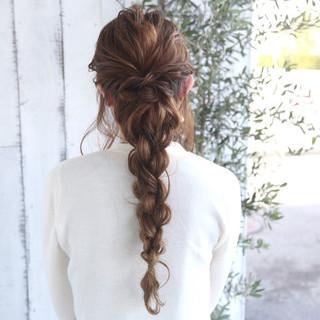 エレガント 結婚式 ロング ヘアアレンジ ヘアスタイルや髪型の写真・画像