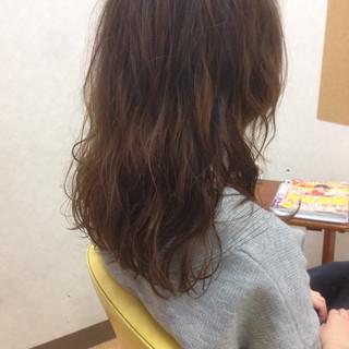 ガーリー ゆるふわ パーマ 大人女子 ヘアスタイルや髪型の写真・画像