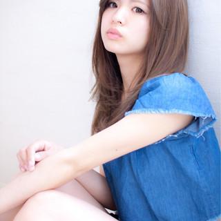 大人かわいい ストレート かわいい 大人女子 ヘアスタイルや髪型の写真・画像 ヘアスタイルや髪型の写真・画像