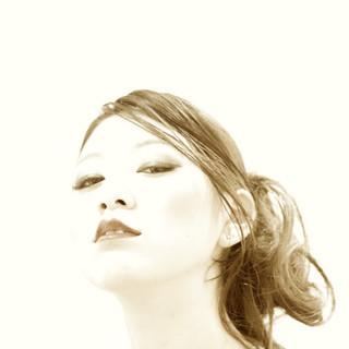 ヘアアレンジ 黒髪 モード 外国人風 ヘアスタイルや髪型の写真・画像 ヘアスタイルや髪型の写真・画像