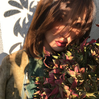 色気 冬 大人かわいい 小顔 ヘアスタイルや髪型の写真・画像