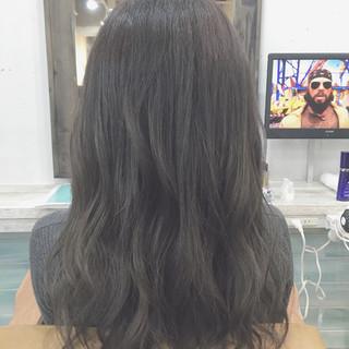 大人かわいい ロング 簡単 ゆるふわ ヘアスタイルや髪型の写真・画像