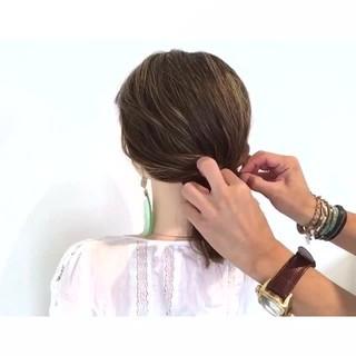 デート 簡単ヘアアレンジ 色気 ヘアアレンジ ヘアスタイルや髪型の写真・画像