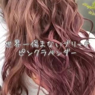エフォートレス フェミニン ロング 外国人風カラー ヘアスタイルや髪型の写真・画像