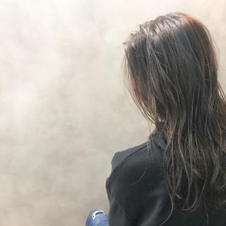 抜け感 ウェットヘア おフェロ 外国人風 ヘアスタイルや髪型の写真・画像