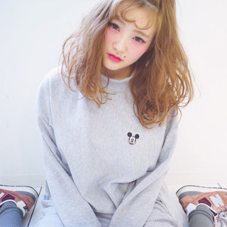 簡単ヘアアレンジ おフェロ ショート フェミニン ヘアスタイルや髪型の写真・画像