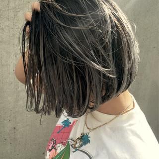 外国人風 似合わせ ハイライト 外国人風カラー ヘアスタイルや髪型の写真・画像