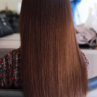 最新トリートメント ナチュラル 縮毛矯正 デート ヘアスタイルや髪型の写真・画像 ヘアスタイルや髪型の写真・画像