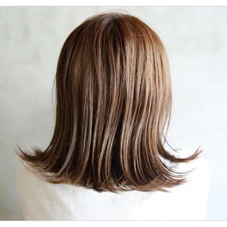 外国人風 ミディアム ヘアアレンジ 透明感 ヘアスタイルや髪型の写真・画像