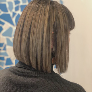 ボブ ショートボブ ミニボブ モード ヘアスタイルや髪型の写真・画像