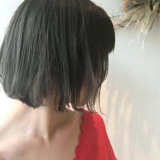 ヘアアレンジ かわいい ガーリー ボブ ヘアスタイルや髪型の写真・画像