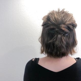 トリートメント 簡単ヘアアレンジ フェミニン ヘアカラー ヘアスタイルや髪型の写真・画像 ヘアスタイルや髪型の写真・画像