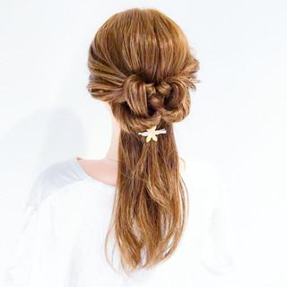 エレガント アウトドア 上品 オフィス ヘアスタイルや髪型の写真・画像
