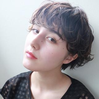 ピュア ナチュラル 大人かわいい ショート ヘアスタイルや髪型の写真・画像