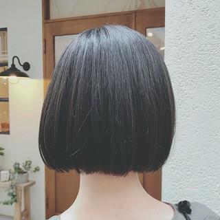 デート ボブ ショート モード ヘアスタイルや髪型の写真・画像