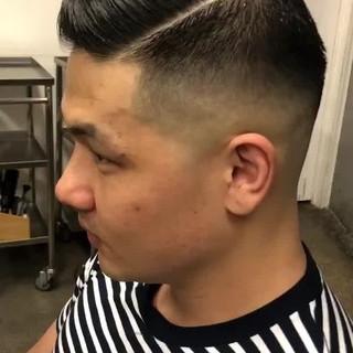 ショート 刈り上げ ベリーショート ストリート ヘアスタイルや髪型の写真・画像