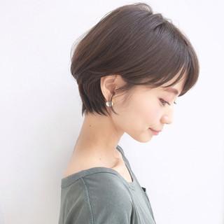 ナチュラル ショート 色気 ヘアアレンジ ヘアスタイルや髪型の写真・画像 ヘアスタイルや髪型の写真・画像