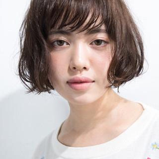 パーマ ボブ モード ボブ ヘアスタイルや髪型の写真・画像 ヘアスタイルや髪型の写真・画像