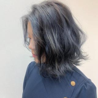エレガント 外国人風カラー グレージュ 外国人風 ヘアスタイルや髪型の写真・画像