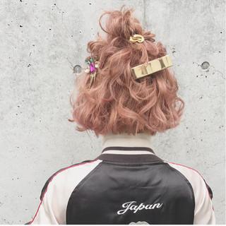 ヘアアレンジ 結婚式 ガーリー 大人かわいい ヘアスタイルや髪型の写真・画像