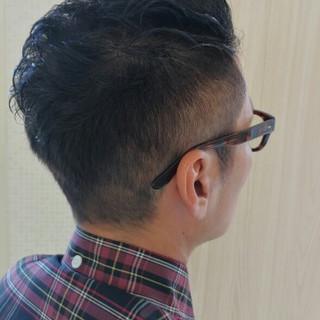 パーマ ボーイッシュ 坊主 グレー ヘアスタイルや髪型の写真・画像