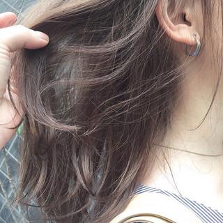 ヘアアレンジ デート 外ハネ オフィス ヘアスタイルや髪型の写真・画像