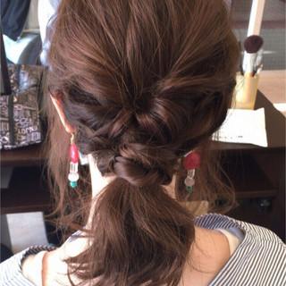 愛され モテ髪 ショート 簡単ヘアアレンジ ヘアスタイルや髪型の写真・画像
