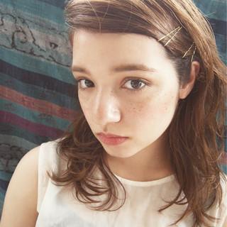 ダブルカラー ショート 外国人風 抜け感 ヘアスタイルや髪型の写真・画像