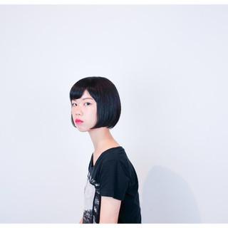 ストリート ワンレングス ショートボブ ボブ ヘアスタイルや髪型の写真・画像 ヘアスタイルや髪型の写真・画像