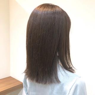 アンニュイほつれヘア ミディアム オーガニックカラー ナチュラル ヘアスタイルや髪型の写真・画像
