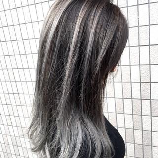 外国人風 セミロング フェミニン 外国人風カラー ヘアスタイルや髪型の写真・画像