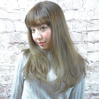 外国人風 外国人風カラー ストリート グレージュ ヘアスタイルや髪型の写真・画像
